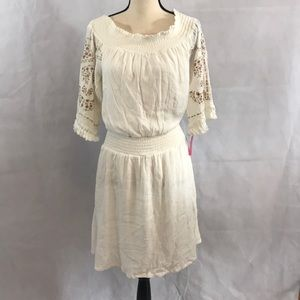 Dress fringe sleeves New With Tags  Size Small
